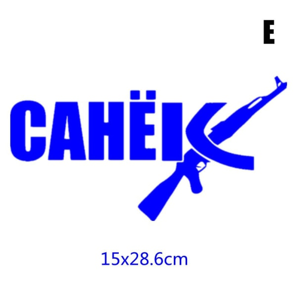 tz-1793 11x17cm roberto sanya är alltid rätt bil klistermärken roliga E