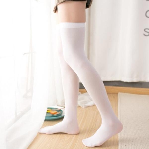 Kvinnor Sexiga varma lår höga strumpor över knästrumpor sammet Cal