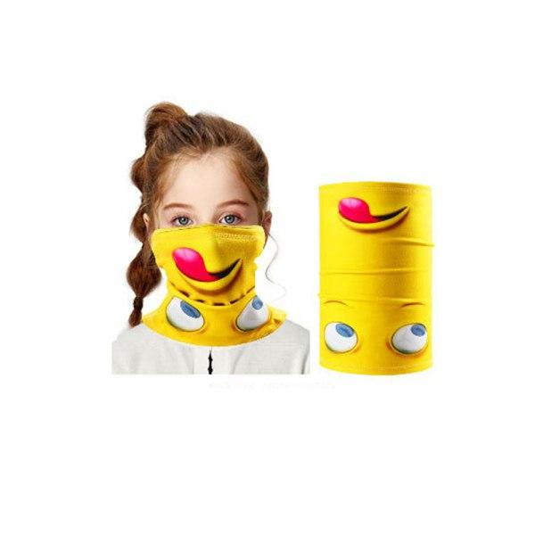 Tubscarf för barn - Gul