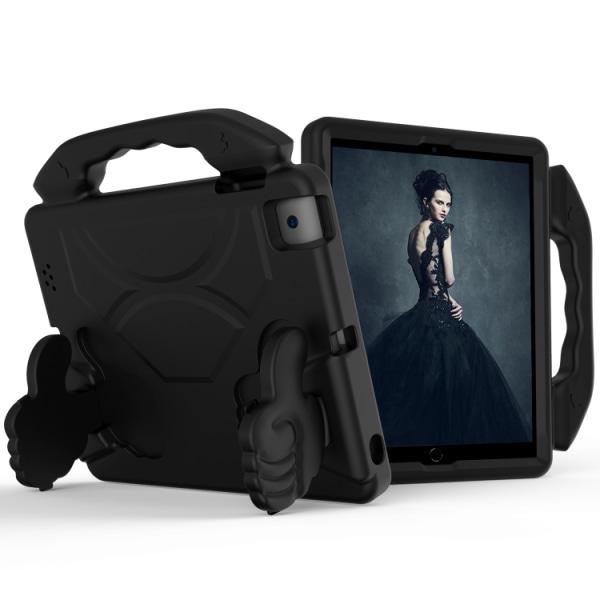 Skyddande skal med handtag till iPad 4 / 3 / 2 Svart