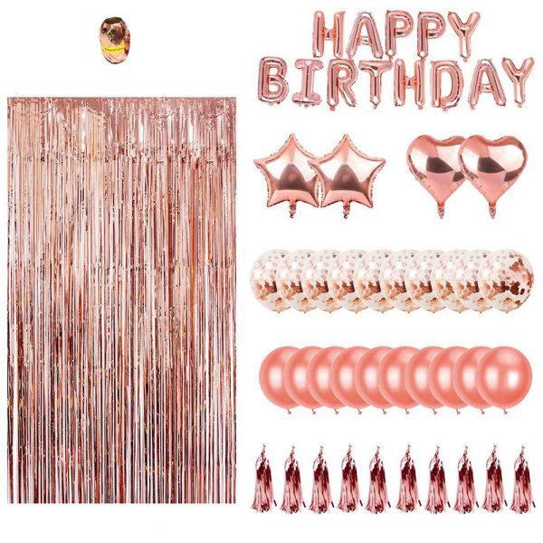 Dekorationset till födelsedag
