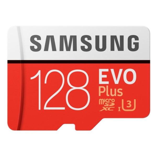 128 GB Samsung Evo Plus MicroSDXC  Cl 10