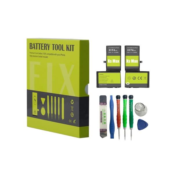 Oh-Box Iphone XS Max Batteri & Verktyg