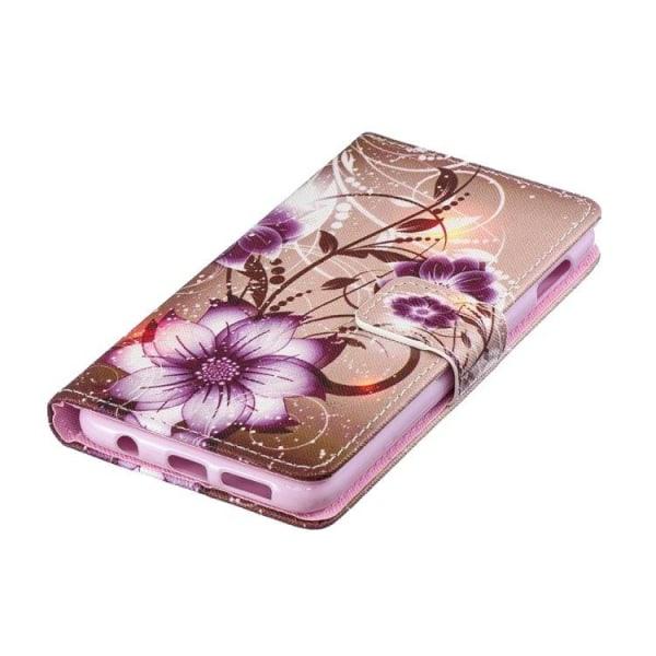 Samsung Galaxy s10e, mobilfodral och plånbok - Lotus blomma