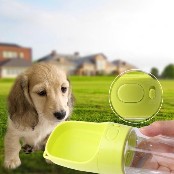 Vattenflaska för husdjur