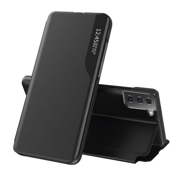 Samsung Galaxy S21 Plus - View Window Flip Fodral - Svart Black Svart