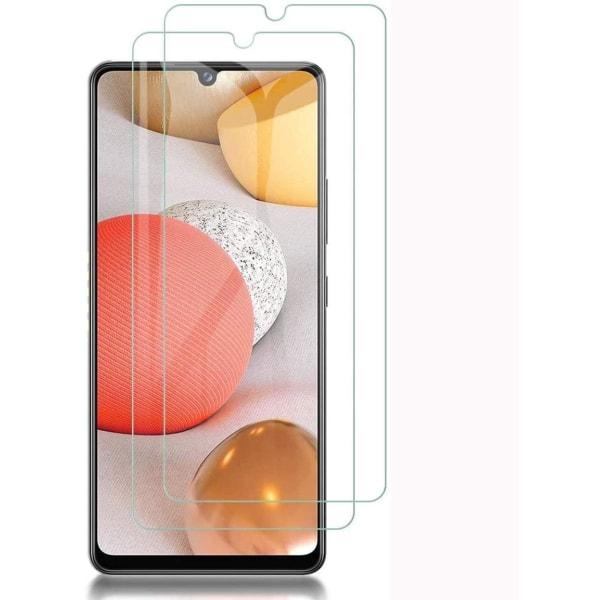 2-Pack - Samsung Galaxy A42 5G Skärmskydd i Härdat Glas