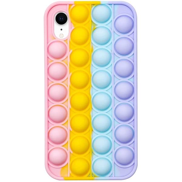 iPhone XR - Pop It Fidget Skal - Multicolor