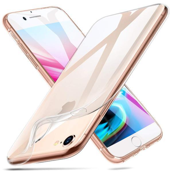 iPhone SE (2020) - Transparent TPU Skal