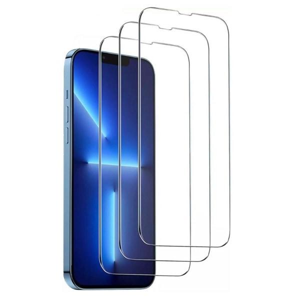 [3-PACK] - iPhone 13/13 Pro Skärmskydd i härdat glas