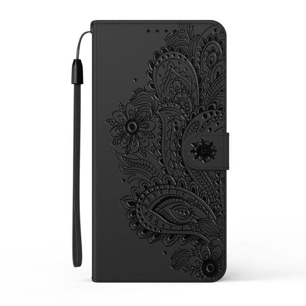 Samsung Galaxy S20 FE - Flower Mandala Fodral - Svart Black Svart