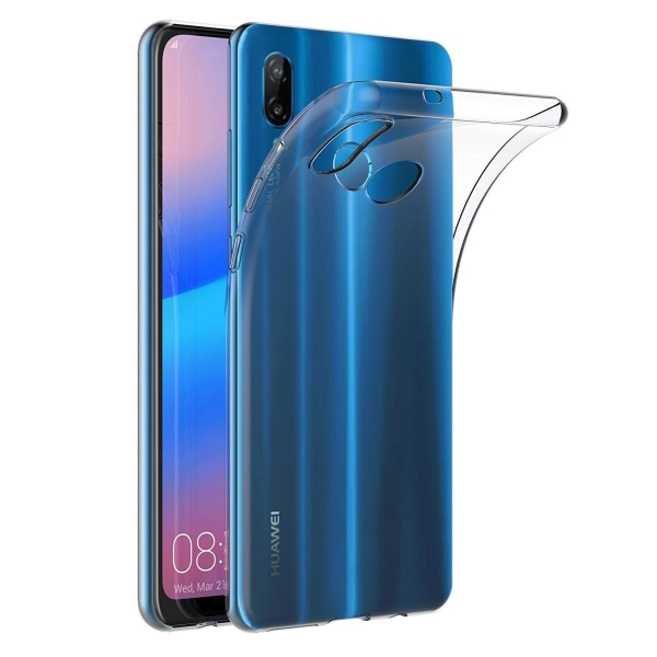Huawei P20 Lite - Transparent TPU Skal