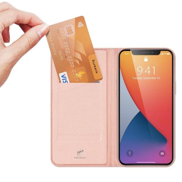 iPhone 12 Mini - DUX DUCIS Skin Pro Fodral - Roséguld Roséguld