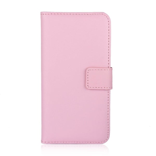 Huawei Honor 10 - Plånboksfodral I Äkta Läder - Ljus Rosa LightPink Ljus Rosa