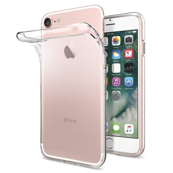 Genomskinligt TPU-skal till iPhone 5/5S/SE
