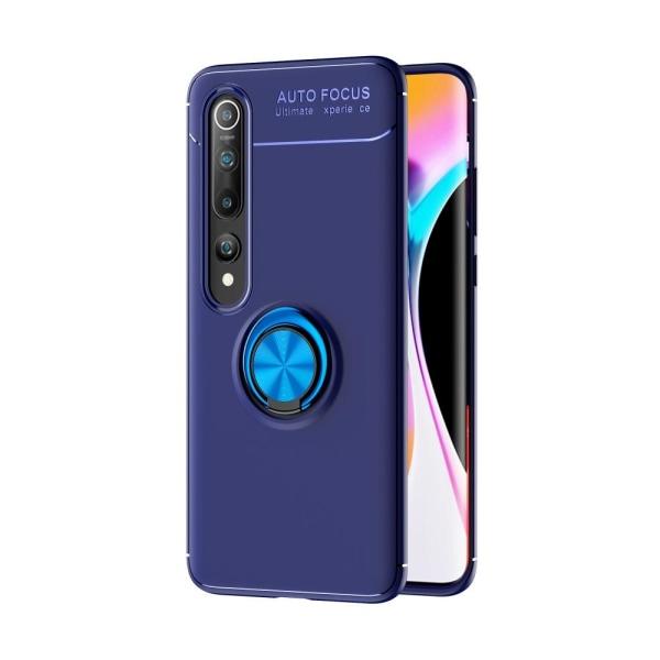 Xiaomi Mi Note 10 / Note 10 Pro - Ring Skal - Blå Blue Blå