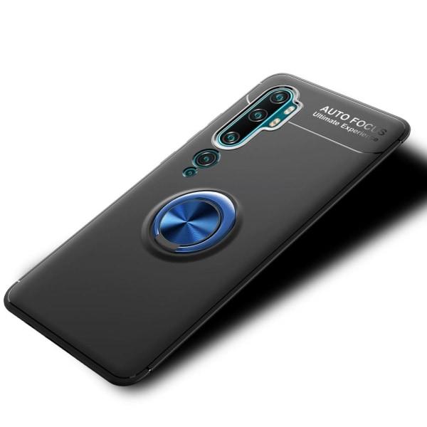 Xiaomi Mi Note 10/10 Pro - Ring Skal - Svart/Blå Svart/Blå