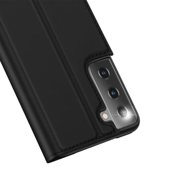 Samsung Galaxy S21 - DUX DUCIS Skin Pro Fodral - Svart Black Svart