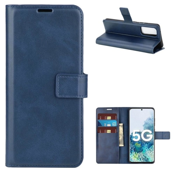 Samsung Galaxy S20 FE - Plånboksfodral - Blå Blue Blå