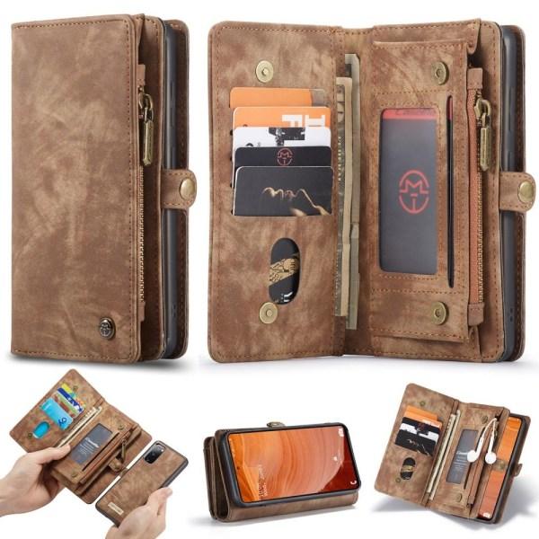 Samsung Galaxy S20 FE - CASEME 2-i-1 Magnet Skal/Fodral - Brun Brown Brun