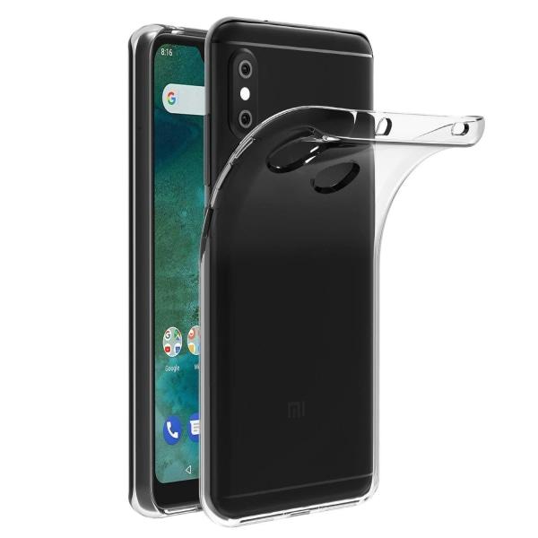 Xiaomi Mi A2 Lite - Transparent TPU Skal