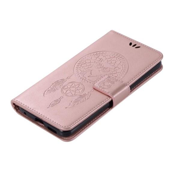 Xiaomi Redmi 9 - Dream Catcher Owl Fodral - Roséguld Roséguld