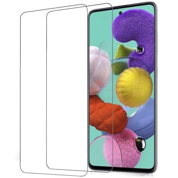 2-Pack Samsung Galaxy A51 - Skärmskydd i Härdat Glas