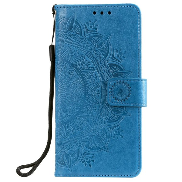 Xiaomi Redmi 9 - Mandala Fodral - Blå Blue Blå