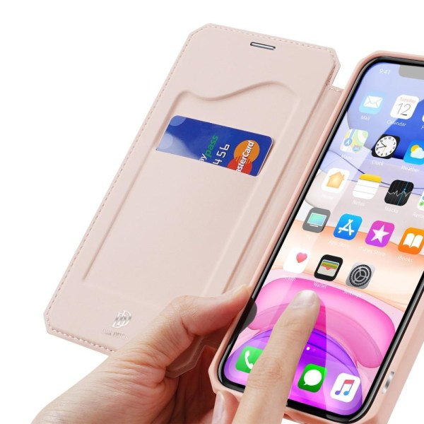 iPhone 11 - DUX DUCIS Shockproof Plånboksfodral - Roséguld Roséguld