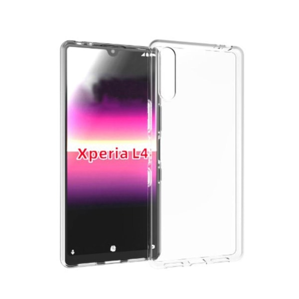 Sony Xperia L4 - Glossy Transparent TPU skal