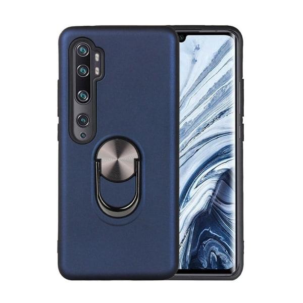 Xiaomi Mi Note 10 / Note 10 Pro - Ring Skal - Mörk Blå DarkBlue Mörk Blå