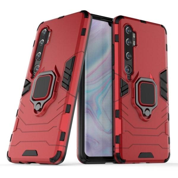 Xiaomi Mi Note 10 / Note 10 Pro - Ring Skal - Röd Röd