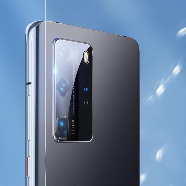 Huawei P40 Pro - 2-PACK BENKS Linsskydd i Härdat Glas