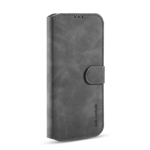 Samsung Galaxy A42 - DG.MING Retro Fodral - Grå Grey Grå