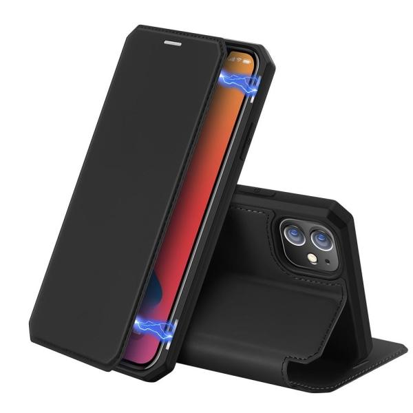 iPhone 12 / 12 Pro - DUX DUCIS Shockproof Fodral - Svart Black Svart
