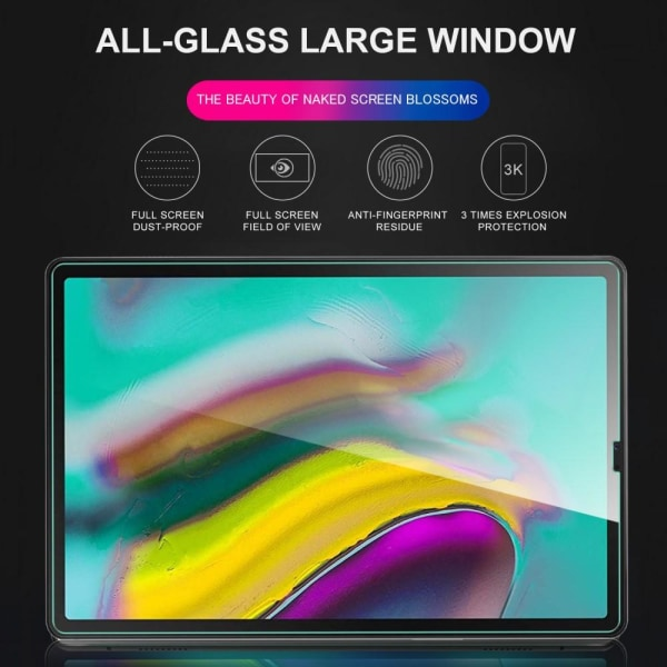 Samsung Galaxy Tab S5e - Skärmskydd I Härdat Glas