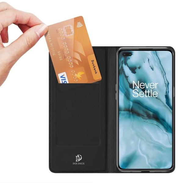 OnePlus Nord - DUX DUCIS Skin Pro Fodral - Svart Black Svart