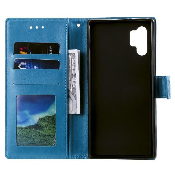 Samsung Galaxy A32 5G - Mandala Läder Fodral - Blå Blue Blå