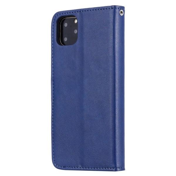 iPhone 11 Pro Max - Plånboksfodral / Magnet Skal - Blå Blue Blå