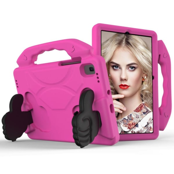 Samsung Galaxy Tab S5e - EVA Shockproof Kickstand Skal - Rosa Rosa