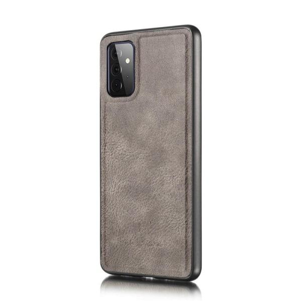 Samsung Galaxy A72 - DG.MING 2in1 Magnet Fodral - Grå Grey Grå