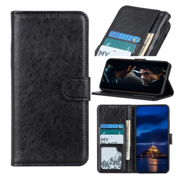 Samsung Galaxy S20 FE - Crazy Horse Fodral - Svart Black Svart