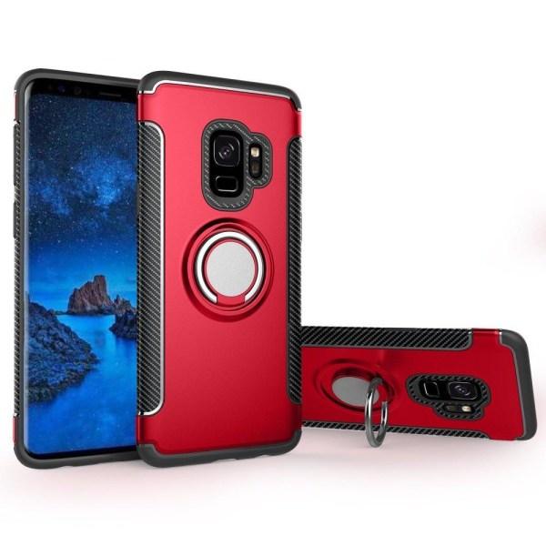 Samsung Galaxy A6 - Ring Skal - Röd Red Röd