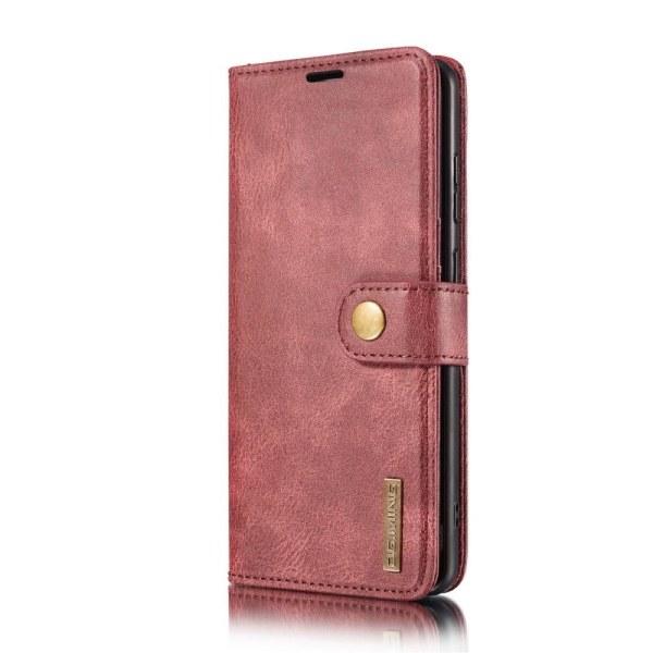 Samsung Galaxy A32 5G - DG.MING 2in1 Magnet Fodral - Röd Red Röd