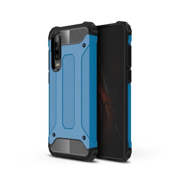 Huawei P30 - Armour Skal - Blå Blue Blå