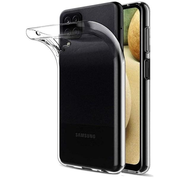 Samsung Galaxy A12 - Transparent TPU Skal