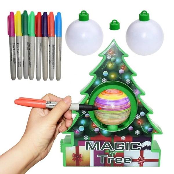 Magisk dekorationskit til juletræ Green