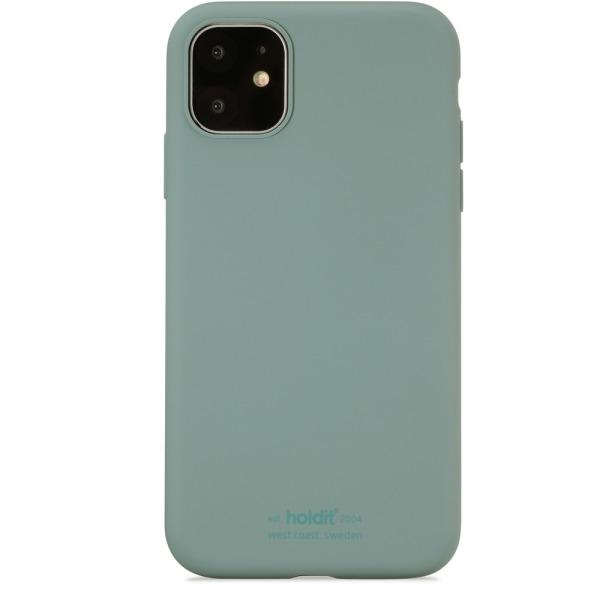 Holdit Silikon skal iPhone 11 Moss Green