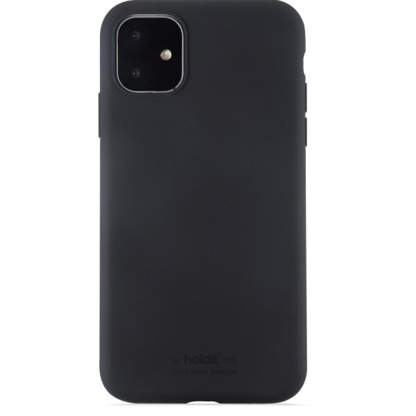 Holdit Silikon skal iPhone 11 Svart