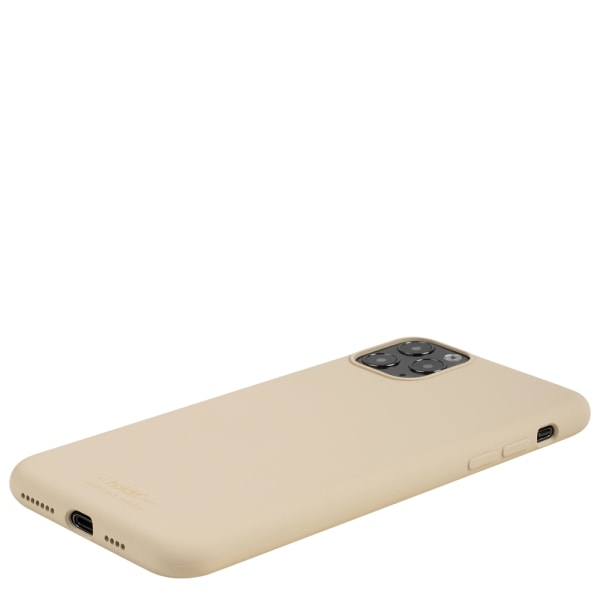 Holdit Silicone Case iPhone 11 Pro Max Beige